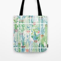 Winter in Glasshouses II Tote Bag