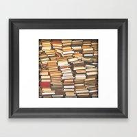 Read Me! Framed Art Print