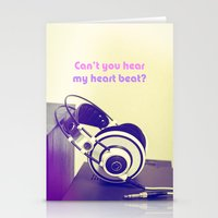 Can't You Hear My Heart … Stationery Cards