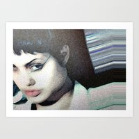 Acid Burn Art Print