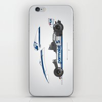 Outline Series N.º6, Nelson Piquet, Brabham BT-52 BMW, 1983 iPhone & iPod Skin