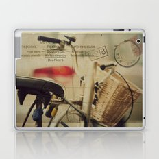 I just want to ride my bike today Laptop & iPad Skin