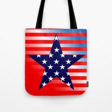 Patriotic American Symbols  Tote Bag