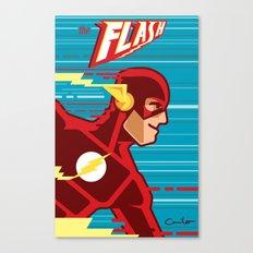 the FLASH! Canvas Print