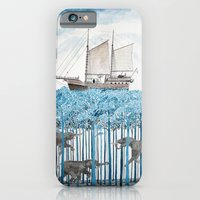iPhone & iPod Case featuring Sea of Trees by Condor