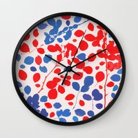 Wildrose 4 Wall Clock