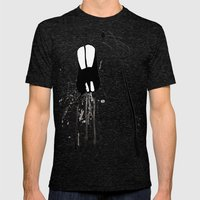 Zombie Gopher Mens Fitted Tee Tri-Black SMALL