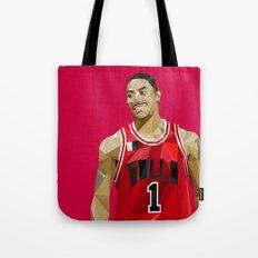 Geometric Rose Tote Bag