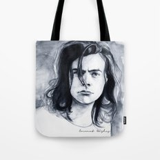 Harry Watercolors B/N Tote Bag