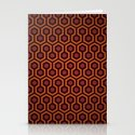 The Shining Pattern Stationery Cards