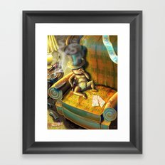 Out With the New, In With the Old  Framed Art Print