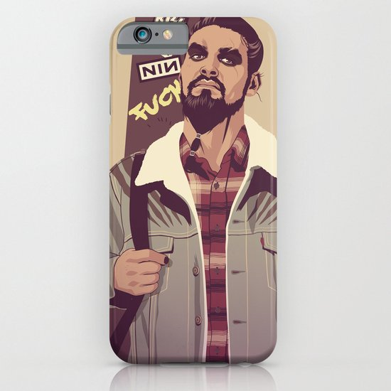 GAME OF THRONES 80/90s ERA CHARACTERS - Khal Drogo iPhone & iPod Case