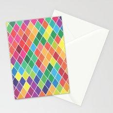 Watercolor Geometric Pattern II Stationery Cards