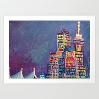 From Vancouver Harbour Art Print
