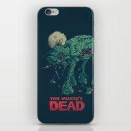 iPhone & iPod Skin featuring Walker's Dead by Victor Vercesi