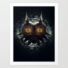 Epic Pure Evil of Majora's Mask Art Print