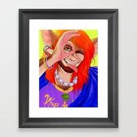 Vivan Los Neones Framed Art Print
