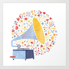 Sounds of Spring  Art Print