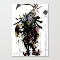 S Kid Canvas Print