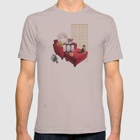 Sam Camp Mens Fitted Tee Cinder SMALL