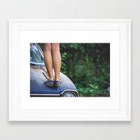 TOMS Framed Art Print