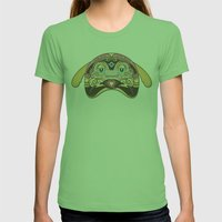 RUFUS (has a heart that shines like a diamond) Womens Fitted Tee Grass SMALL