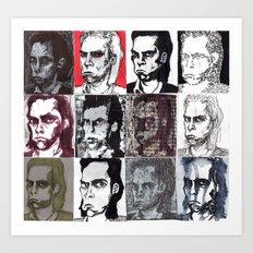 Nick Cave Galore Art Print