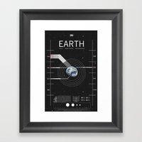 OMG SPACE: Earth 1950 - … Framed Art Print