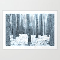 More Trees. Art Print