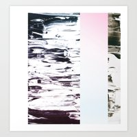 Collision Art Print