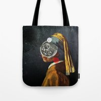 Look into the deep night Tote Bag