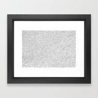 1000 Imaginary Friends A… Framed Art Print