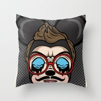 Mickey Boy Throw Pillow