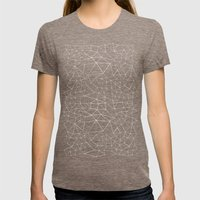 Segment Womens Fitted Tee Tri-Coffee SMALL