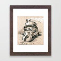 Coffee House Framed Art Print