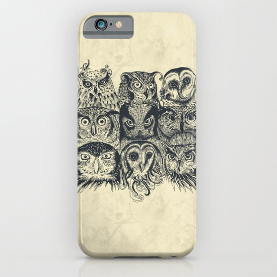 Nine Owls iPhone & iPod Case