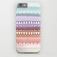 iPhone & iPod Case featuring Triangle Gradient Earthy Mix by Katy Clemmans