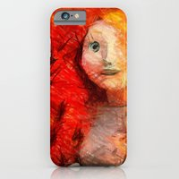 iPhone & iPod Case featuring brave RedHead  by Julia Kovtunyak