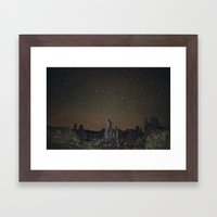 Kell Watch The Stars Framed Art Print