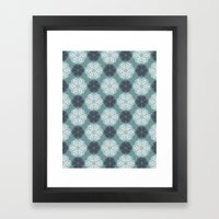 PAISLEYSCOPE Posh (jade) Framed Art Print