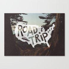 Road Trip USA Canvas Print