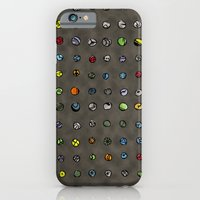 iPhone & iPod Case featuring Imaginary Agates (Warm Dark Sand Tones) by penina