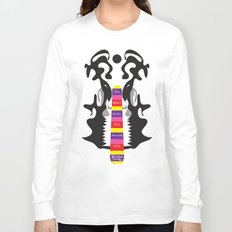 The elephant with the inscissors tusk.  Long Sleeve T-shirt