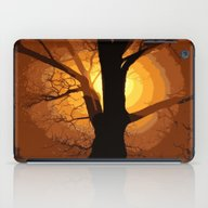 Sunset Over The Tree I iPad Case