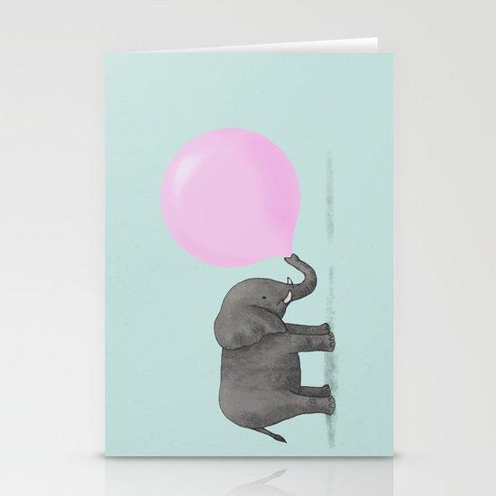 Jumbo Bubble Stationery Card
