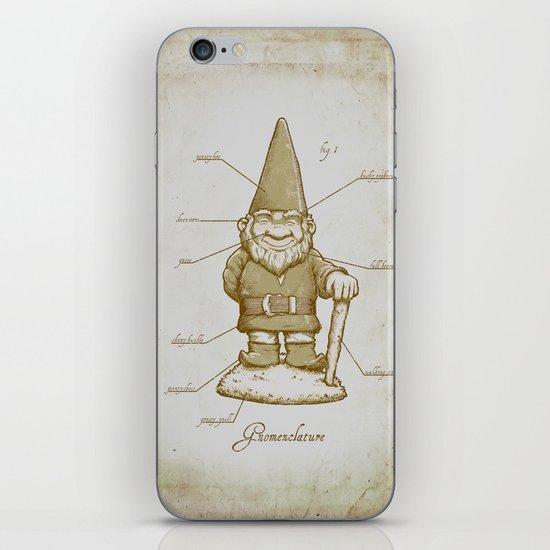 Gnomenclature iPhone & iPod Skin