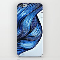 Abstract Hair iPhone & iPod Skin