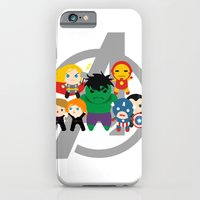 Tiny Heroes, Assemble iPhone 6 Slim Case