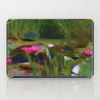 Water Lily Billabong iPad Case