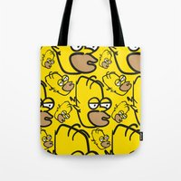 Hard Night Homer Tote Bag